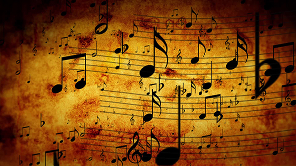 Fall Wallpaper 4d Animated Background With Musical Notes By Cookelma Videohive