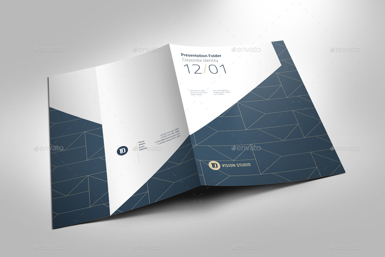 Presentation Folder Template 005 by ID_Vision_Studio  GraphicRiver
