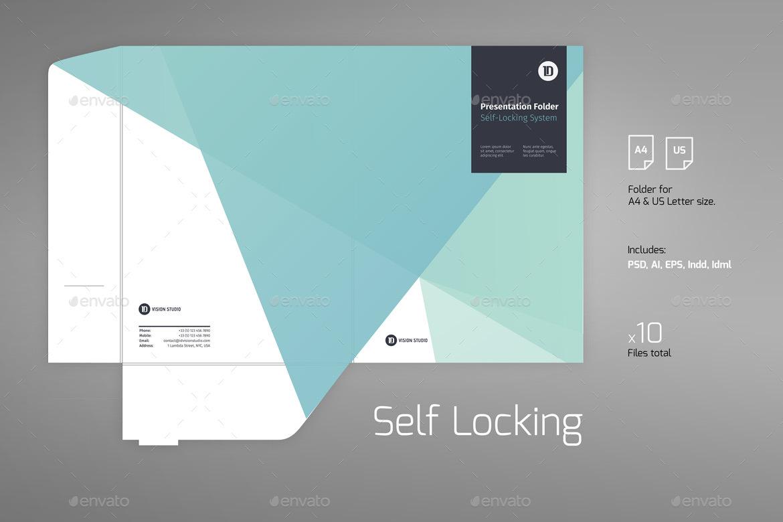 Presentation Folder Template 007 by ID_Vision_Studio