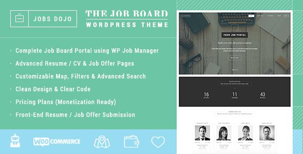 JobsDojo - The WordPress Job Board Portal Theme - 8