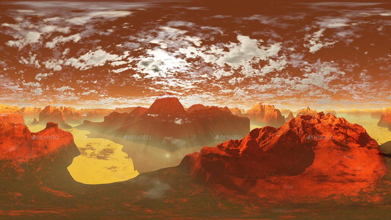 Hdr Lava Skies By 7030 Artwork 3docean