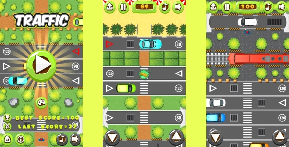 Traffic Command - HTML5 Game + Mobile Version! (Building 3 | Construction 2 | Capx) - 49