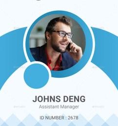 corporate id card [ 900 x 1436 Pixel ]