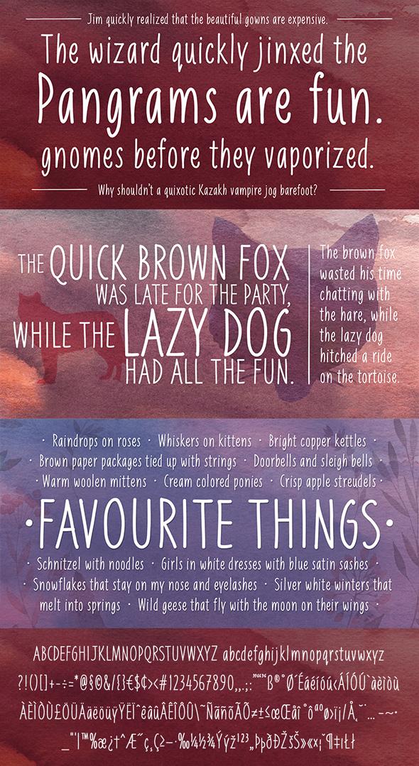 Free Font Liniga Typeface Download