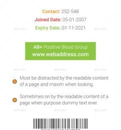 multipurpose business id card template [ 900 x 1435 Pixel ]