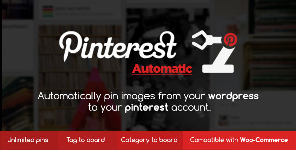 Resultado de imagen de Pinterest Automatic Pin WordPress Plugin