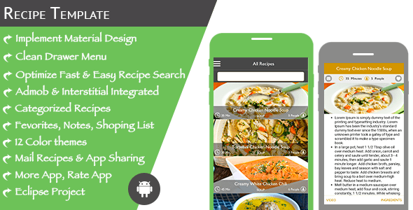 Multi purpose recipe template for android house of free apps multi purpose recipe template for android forumfinder Gallery