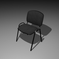 Simple Desk Chair Patio Chairs Cheap Office By Ieron 3docean