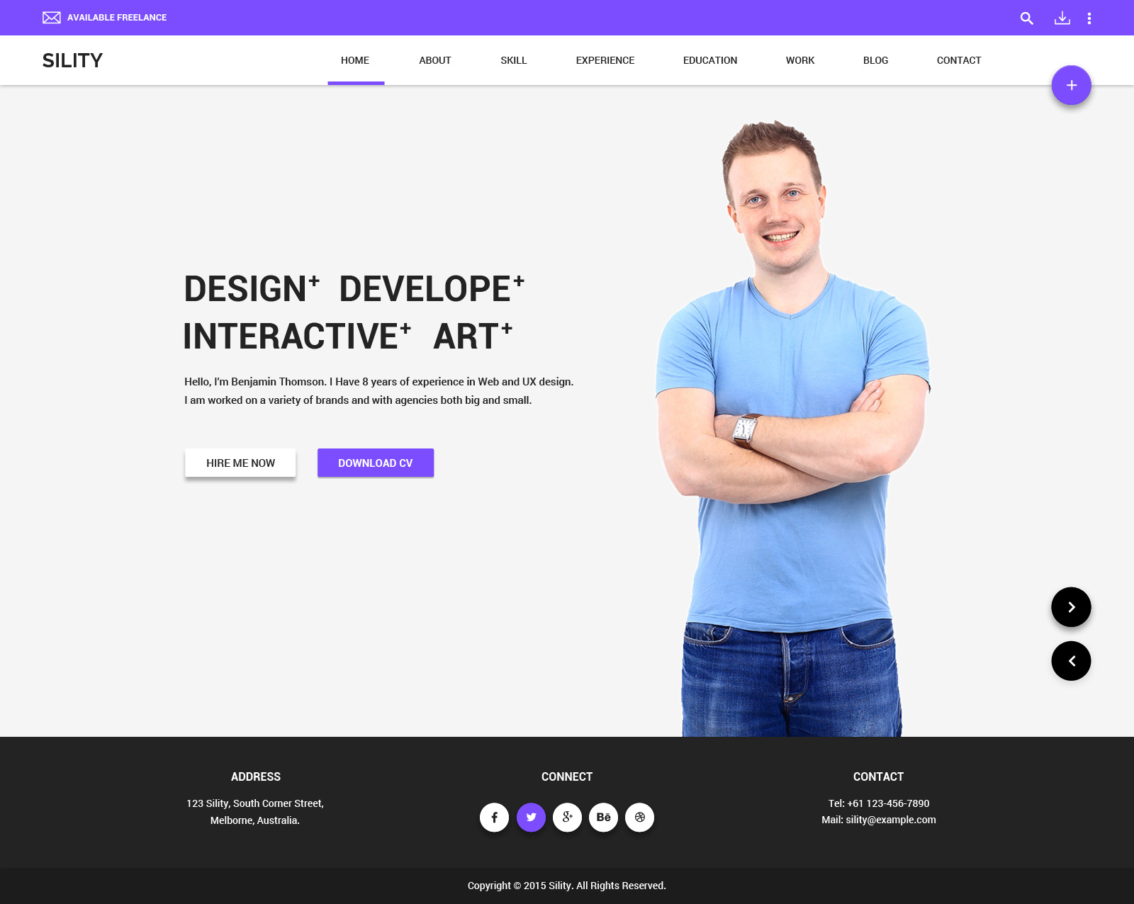 How To Make A Resume Website Sility Vcard Cv Resume Wordpress Theme