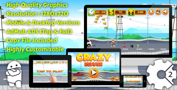 Traffic Command - HTML5 Game + Mobile Version! (Building 3 | Construction 2 | Capx) - 45