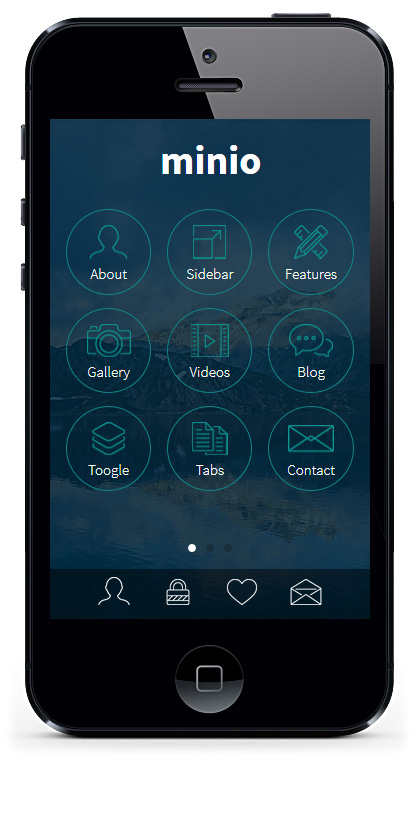 Minio HTML Mobile Template By Sindevo ThemeForest