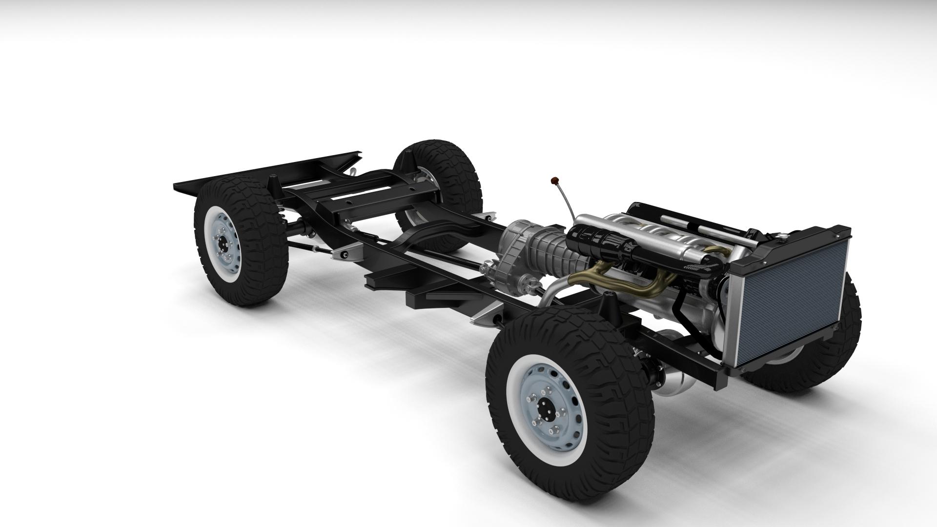 Full Land Rover Defender 110 Utility Station Wagon rev by dragosburian