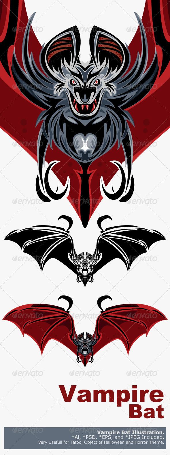 Vampire Bat - Monsters Characters