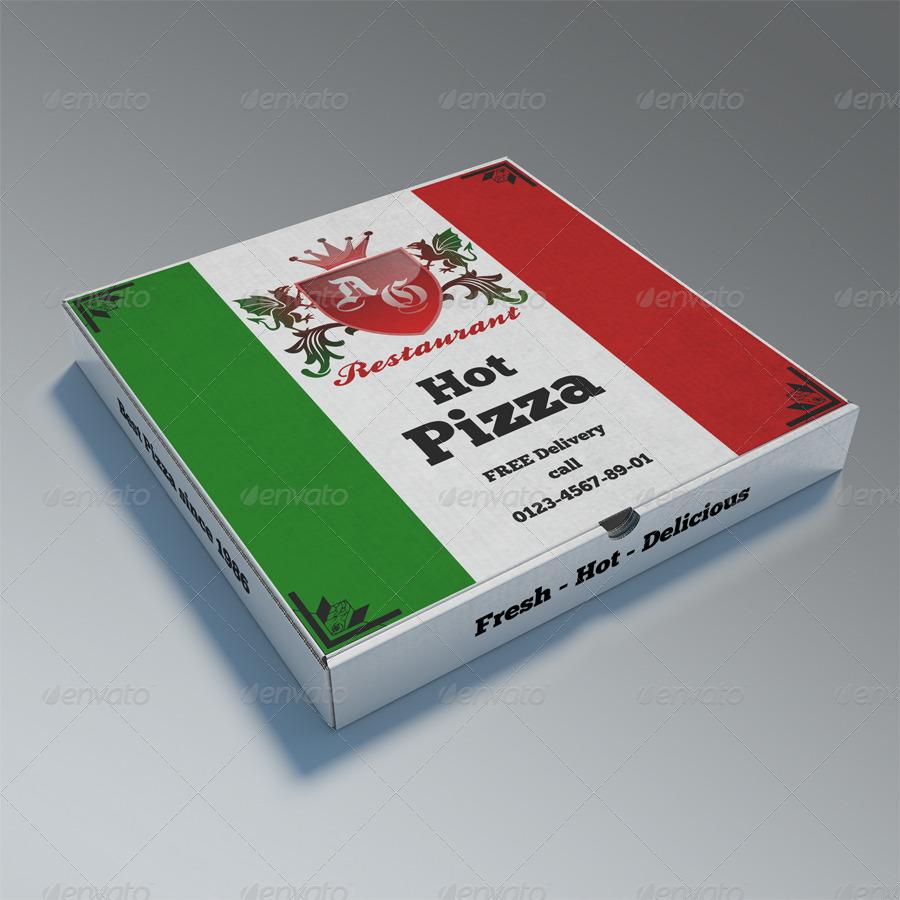 pizzabox mock up