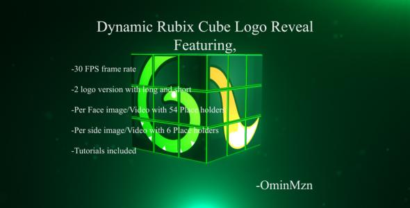 dynamic rubix cube logo