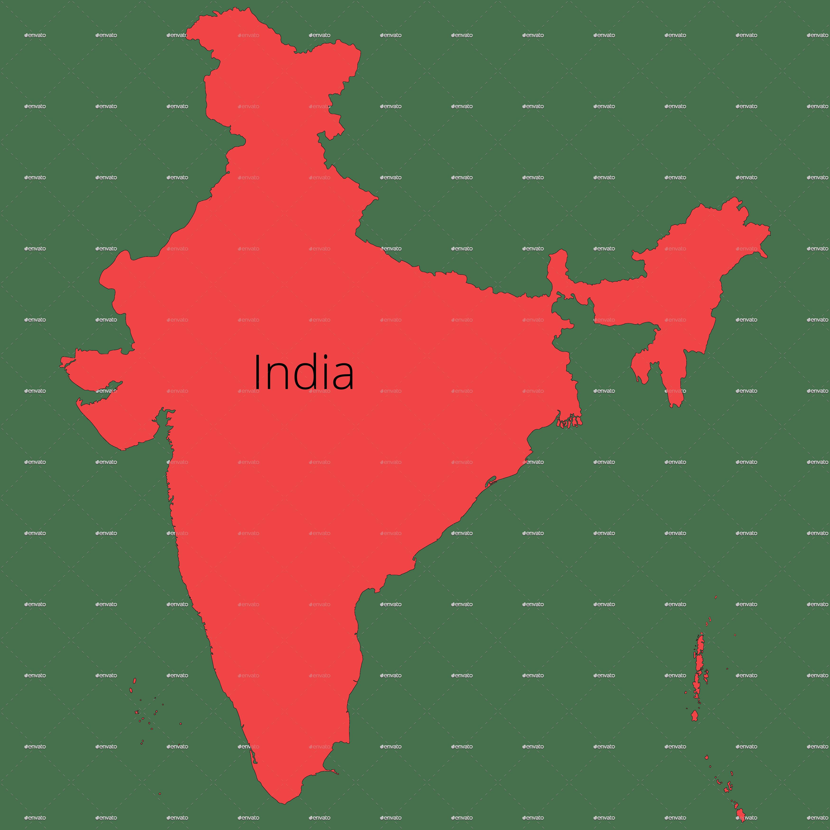 World Map Outline Shirt