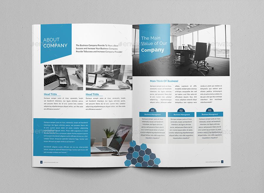 Corporate Brochure Company Profile By Al Mamun