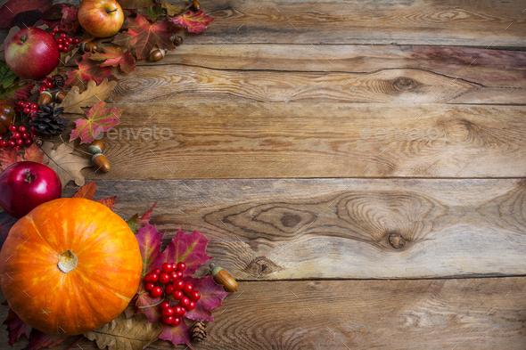 Seasonal Fall Coffee Desktop Wallpaper Thanksgiving Or Fall Greeting Background With Orange