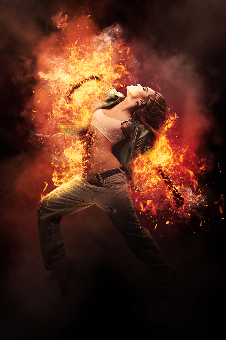 Gif Animated Fire Photoshop Action by sreda  GraphicRiver