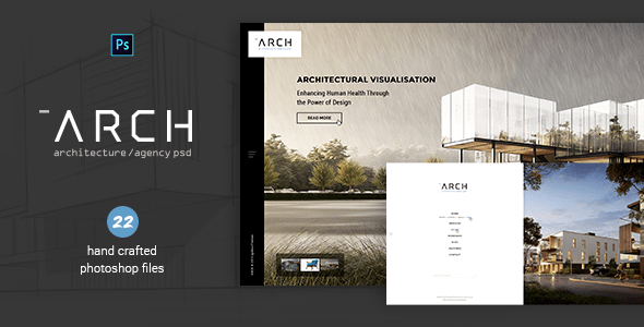 Arch Architecture & Agency PSD By IgnitionThemes