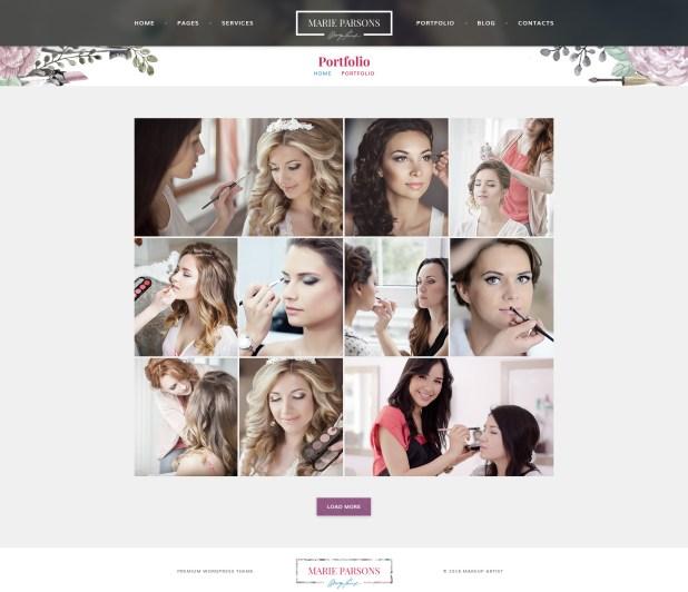 Free Online Makeup Artist Portfolio | Cartoonview.co