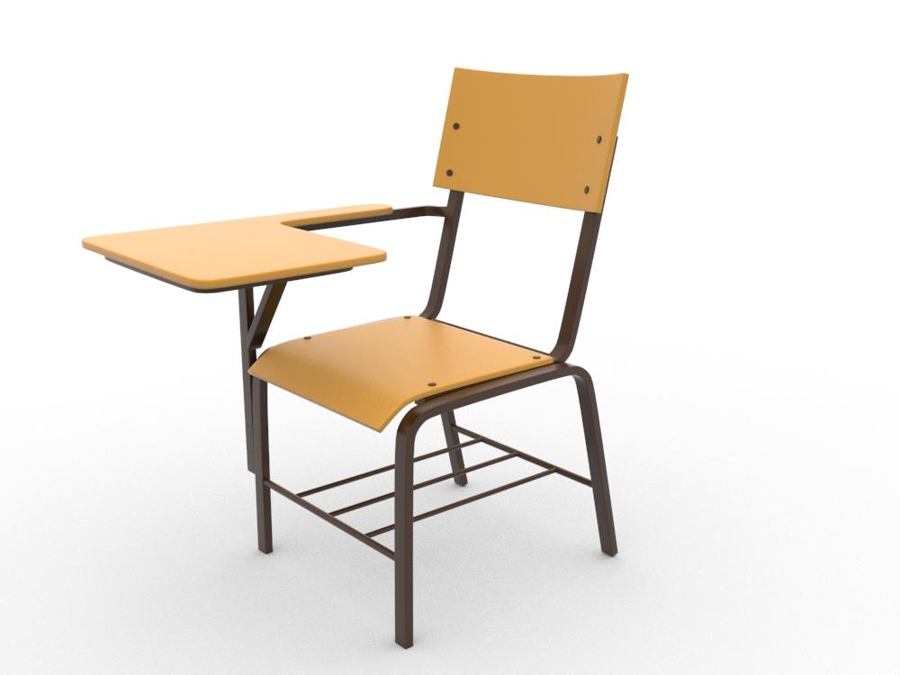 School Chair by teddpermana