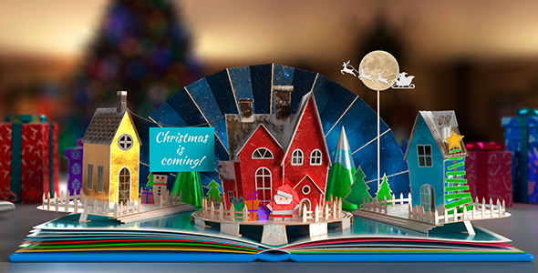 Christmas Pop-Up Book 2