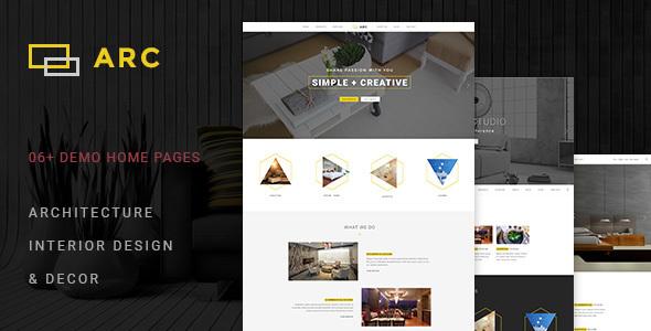 ARC - Interior Design, Decor, Architecture WordPress Theme version 1.4.2