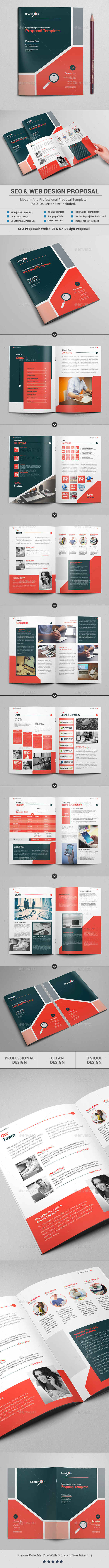 SEO And Web Design Proposal Template by Al-Mamun | GraphicRiver