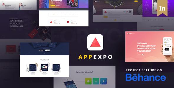 App Landing Page WordPress Theme (App Showcase, App Store) - App Expo