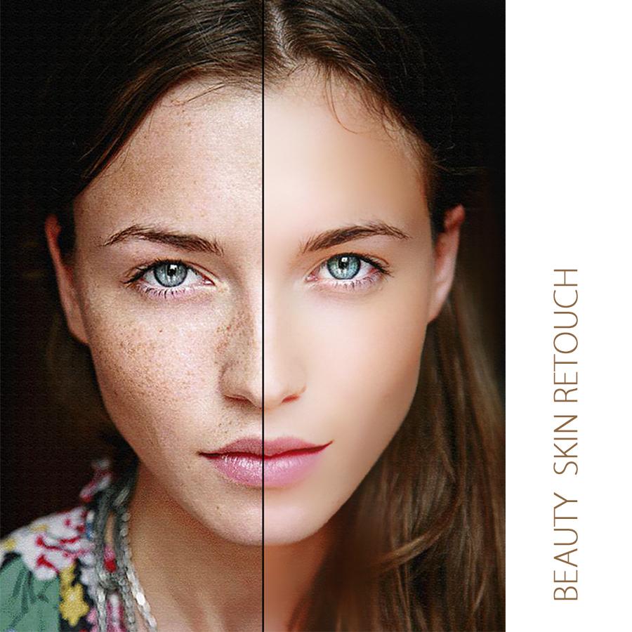 Beauty Skin RetouchPhotoshop Action by IrmuunDesign