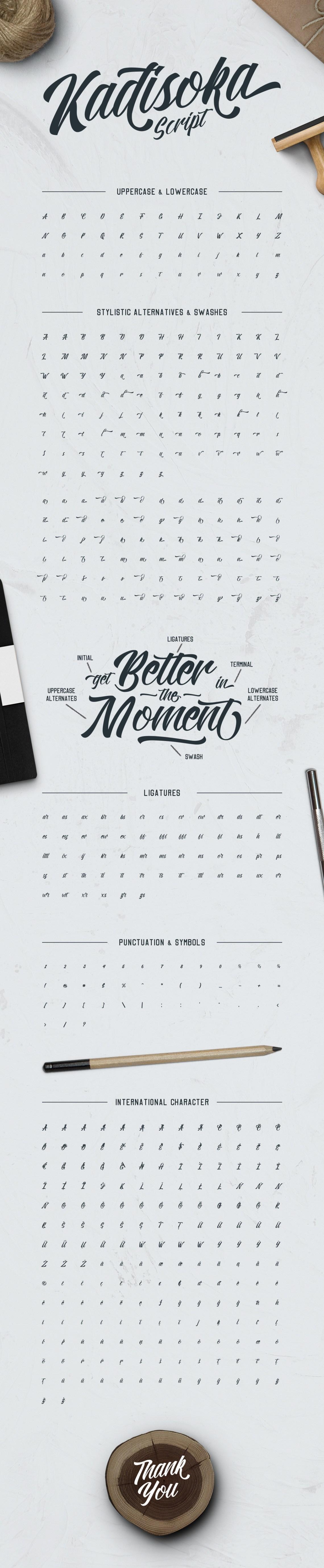 Download Kadisoka Font Pack by letterhend | GraphicRiver