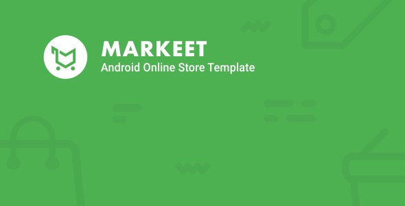 Markeet - Android Online Store 1.1 - CodeCanyon Item for Sale