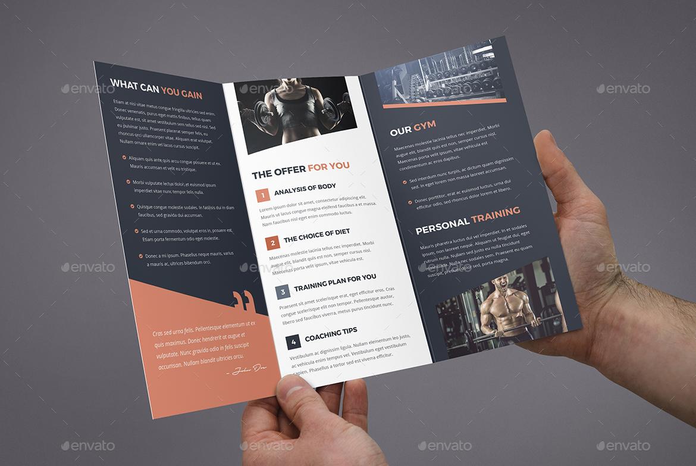 Brochure – Gym Tri Fold By Artbart GraphicRiver