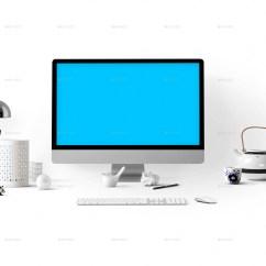 3 Way Displays Male Fetal Pig Diagram Desktop Display Mock-up | Hero Image Edition By Itscroma Graphicriver