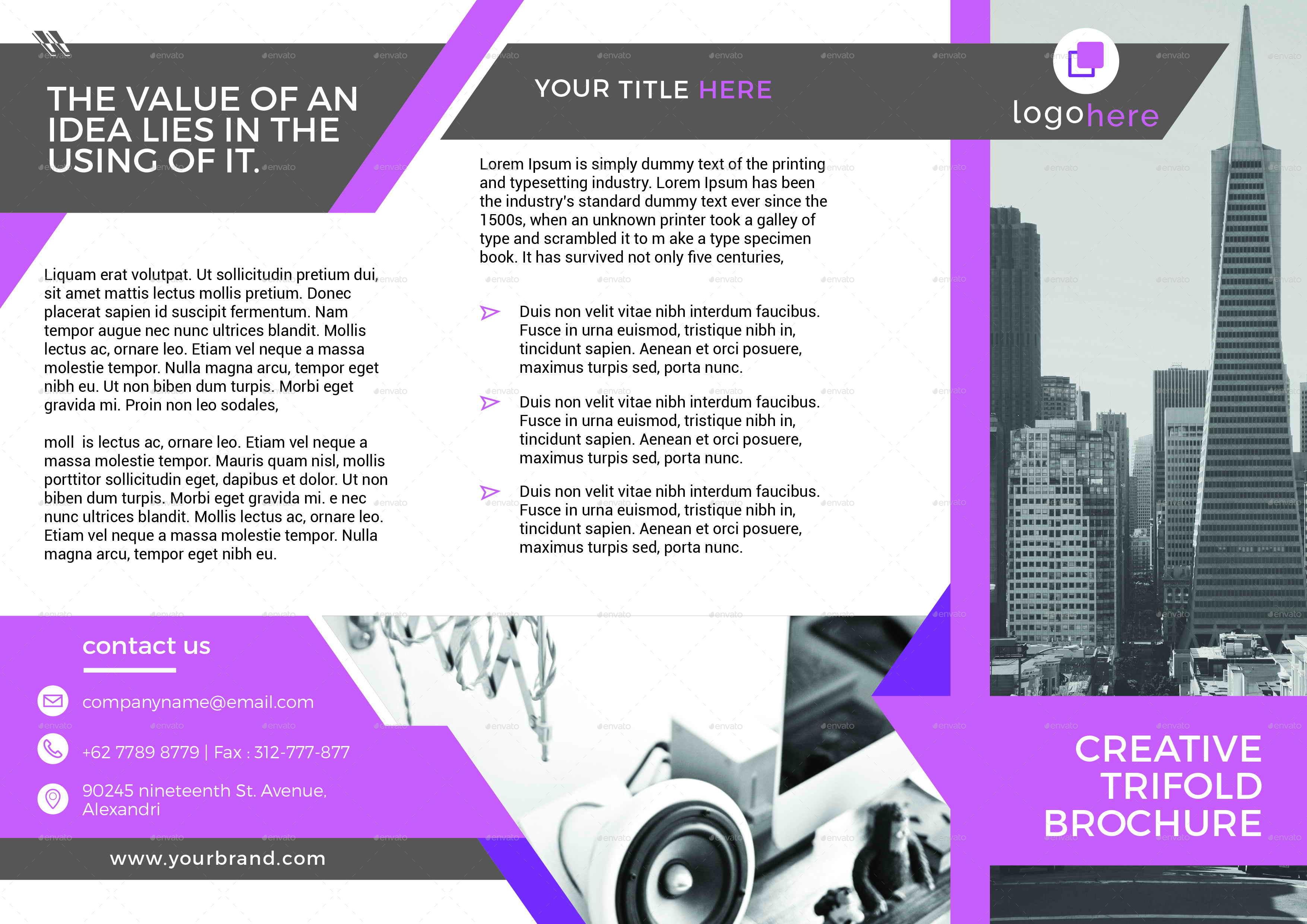 Trifold Brochure By Rilsart