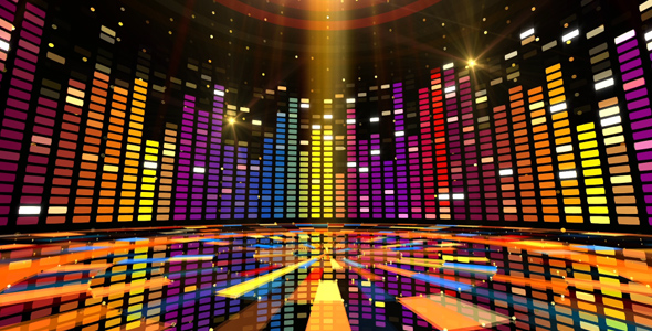 Rainbow Dance Floor by AS_100  VideoHive