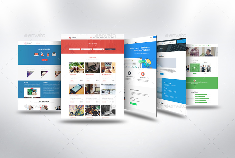 3D Web Page Presentation Mock-Up V3 by towhid123griver   GraphicRiver