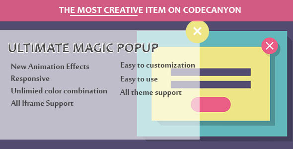 Visual Composer - Ultimate Magic Popup - CodeCanyon Item for Sale