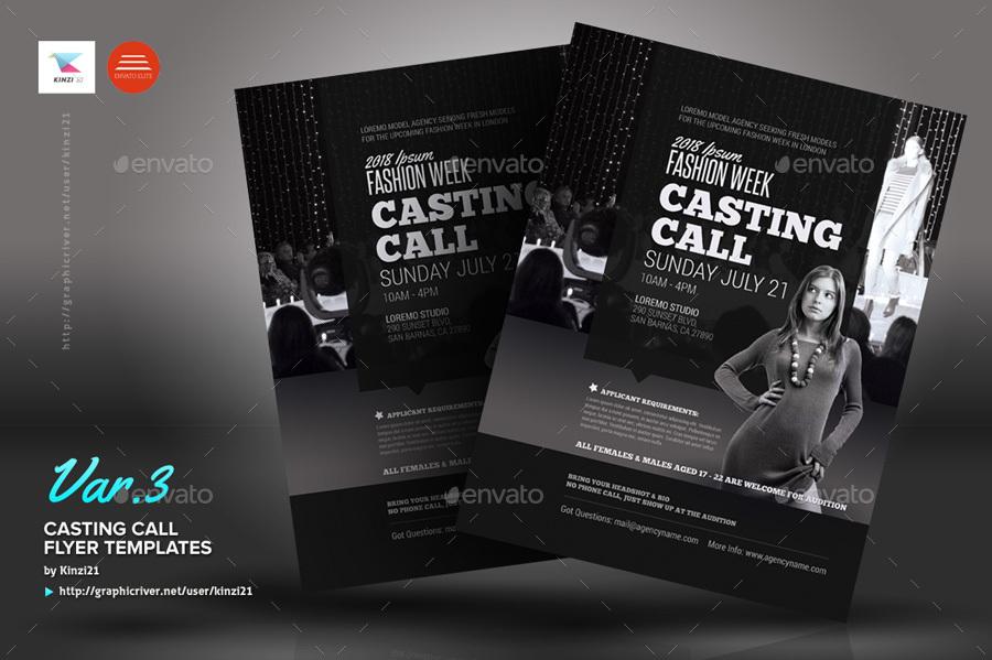 Casting Flyer Dolap Magnetband Co