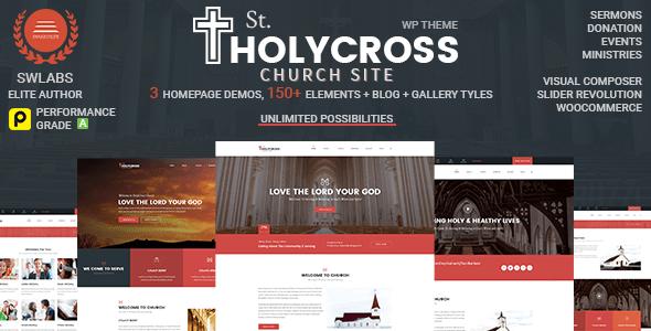 Church WordPress Theme | HolyCross Church