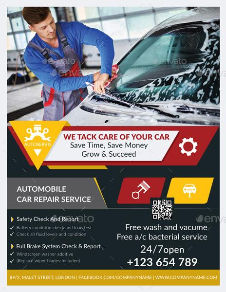 auto repair flyers ferdin
