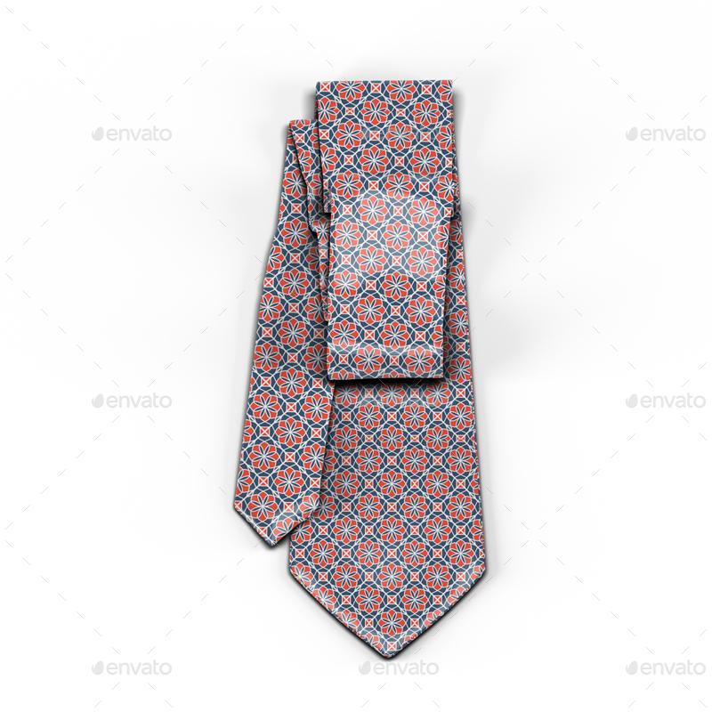 necktie mock up