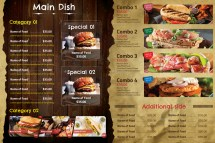 Restaurant Menu Vol 31 Tuancfs Graphicriver