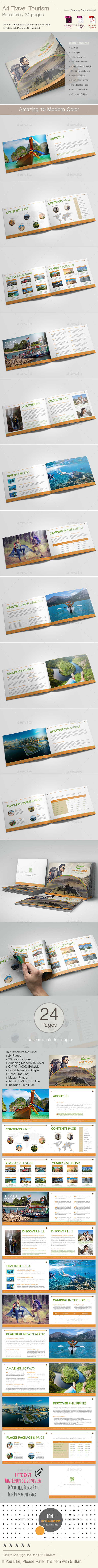 Travel Tourism Brochure Template - Catalogs Brochures