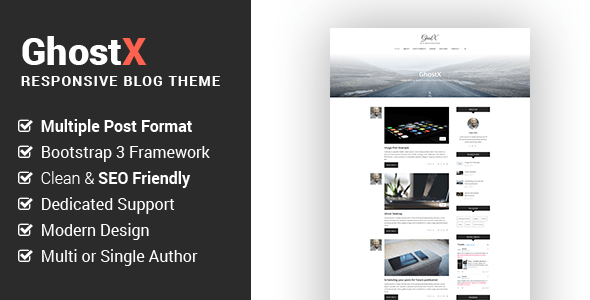 Dook - One page Book Landing PSD Template - 3
