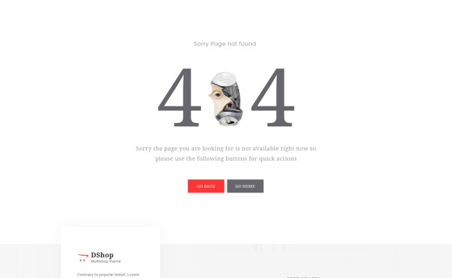 Dshop Multipurpose Ecommerce Psd Template By Maplethemes