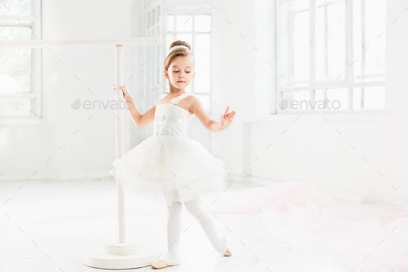 little ballerina girl in