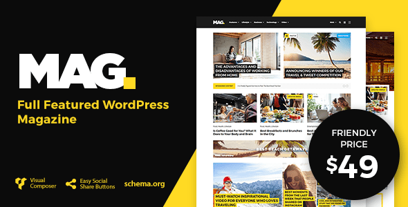 preview 49.  large preview - Mag | Full Featured WordPress Magazine
