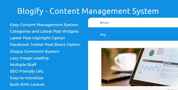 Blogify - Content Management System